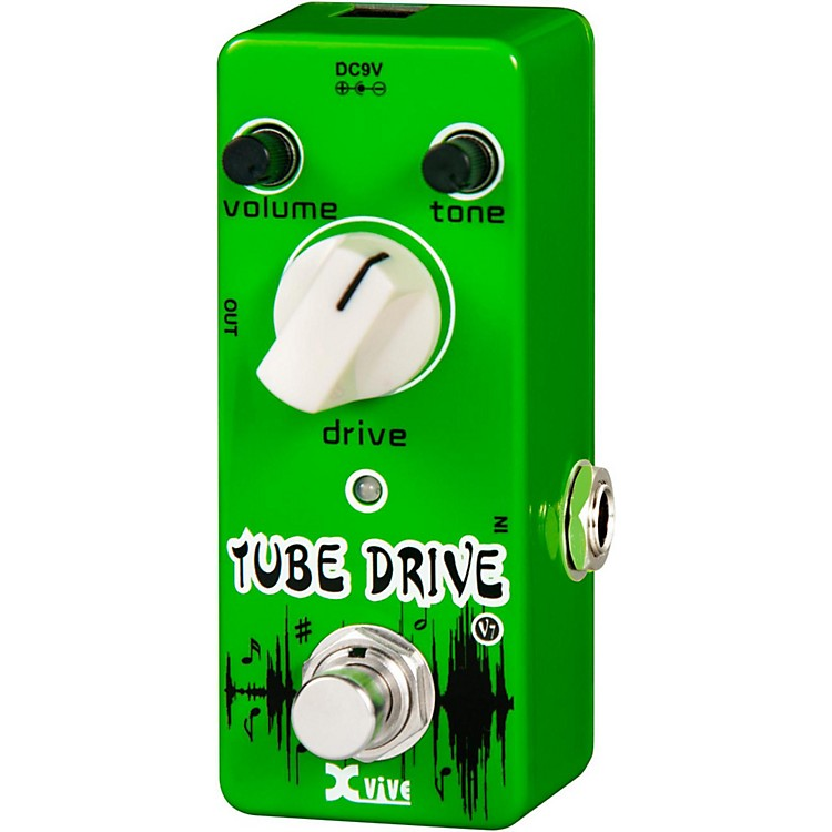 XViveV7 Tube Drive Guitar Effects Pedal