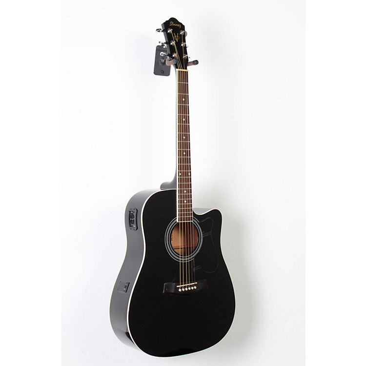 Ibanez V70CE Acoustic-Electric Guitar Black 888365781600