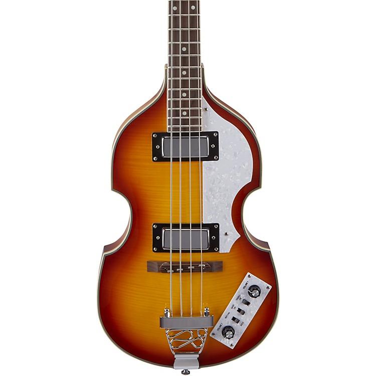 RogueVB100 Violin Bass GuitarVintage Sunburst