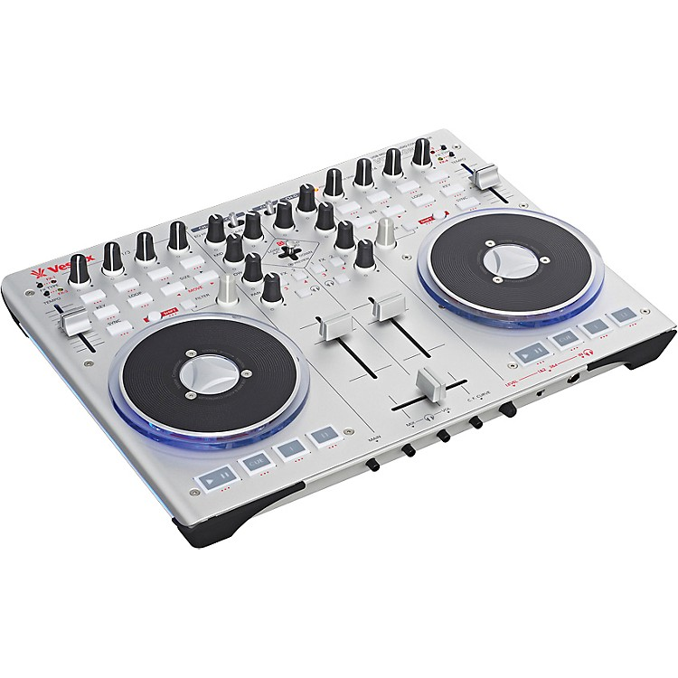 VestaxVCI-100 mkII USB DJ MIDI controller with Traktor LE