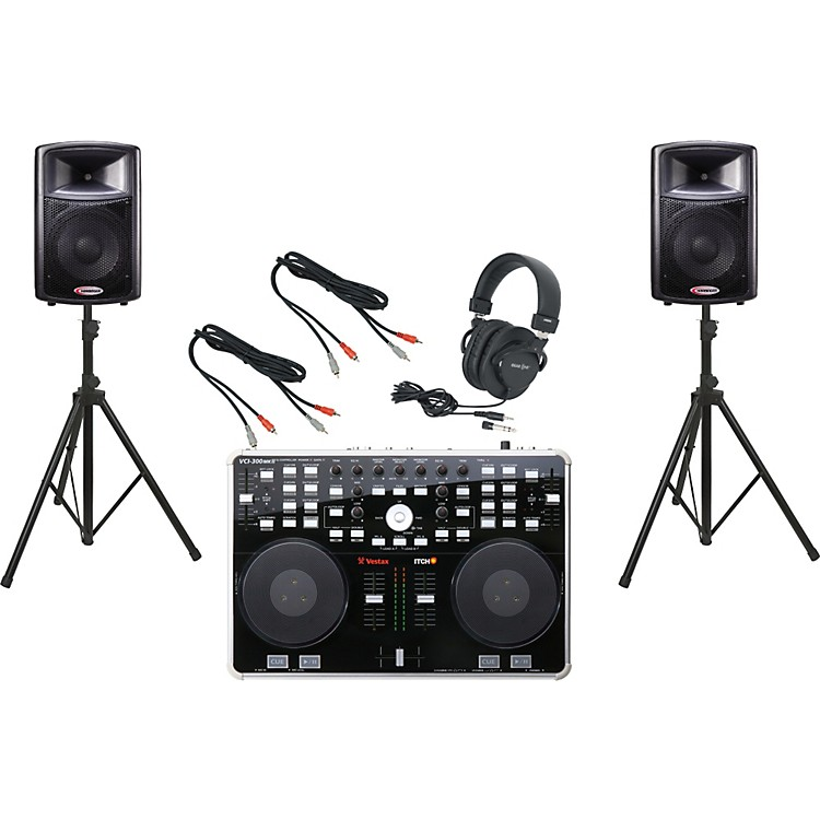 Vestax VCI-300 MKII / Harbinger APS12 DJ Package