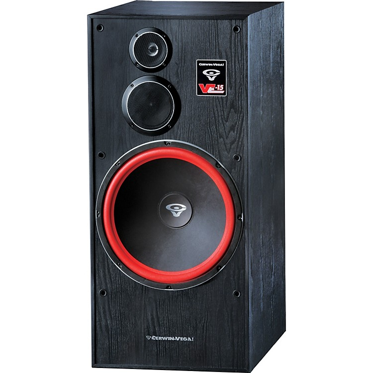 Cerwin-Vega VE-15 3-way Tower Speaker