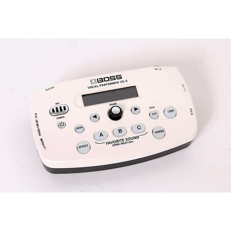 Boss VE-5 Vocal Effects Processor White 888365917108