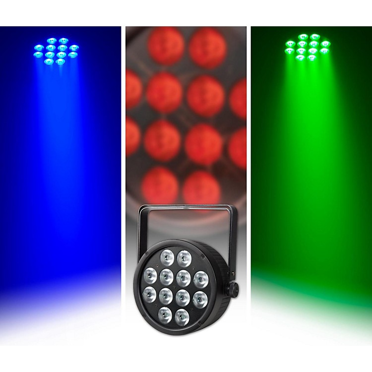 ProlineVENUE ThinTri64 PAR 64 Tri-LED Stage Light