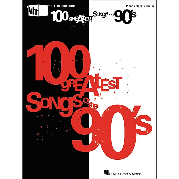 Hal LeonardVH1's 100 Greatest Songs of the 90's (Piano/Vocal/Guitar Songbook)