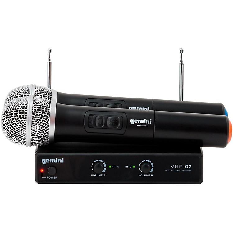 GeminiVHF-02M Dual Handheld Wireless SystemS26