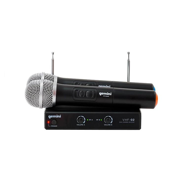 GeminiVHF-02M Dual Handheld Wireless SystemS48