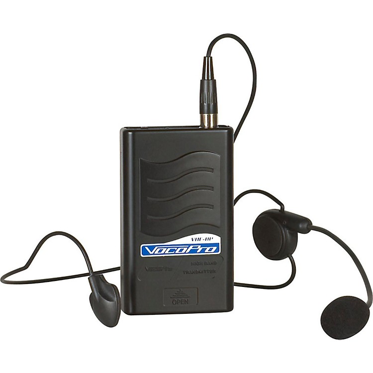 VocoPro VHF-BP Bodypack & Headset Mic A Black
