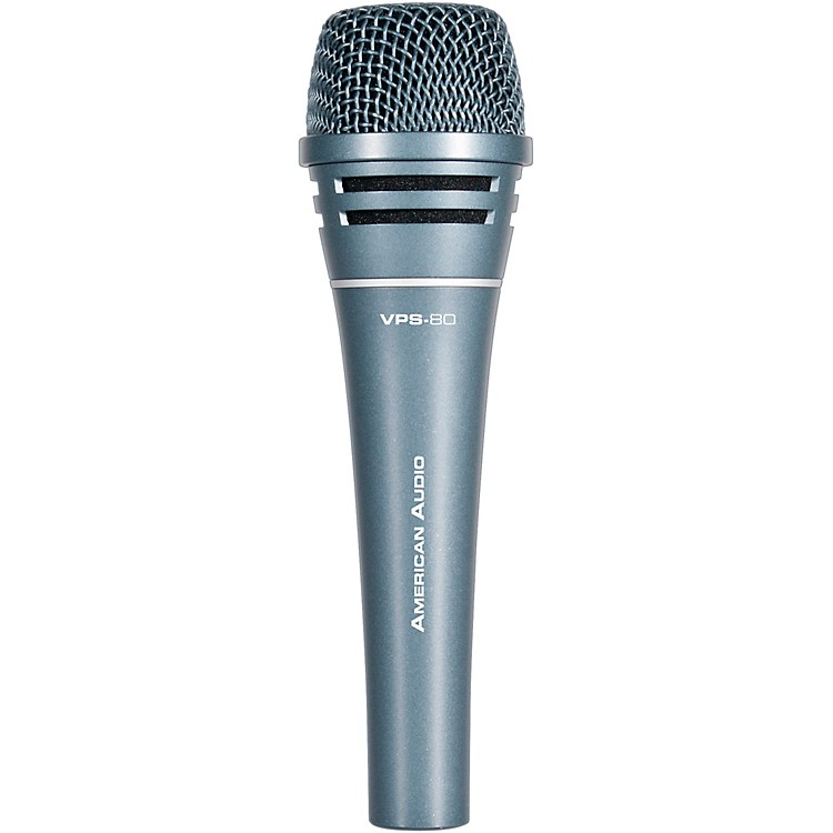 American Audio VPS-80 Dynamic Handheld Mic Black