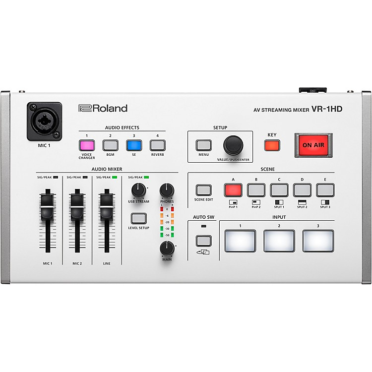 Roland VR-1HD AV Streaming Mixer Switcher