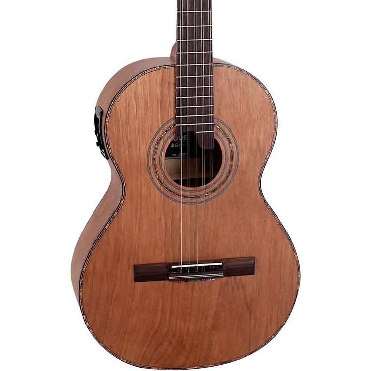 GianniniVSA-2 EQ Catalpa Top Brazilian 10-String Acoustic-Electric ViolaCatalpa