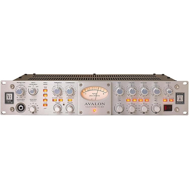 AvalonVT-737SP Pure Class A Mono Vacuum Tube Channel StripSilver888365833897