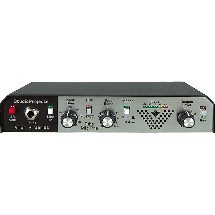 Middle Atlantic VTB-1 Tube Blend Mic Preamp