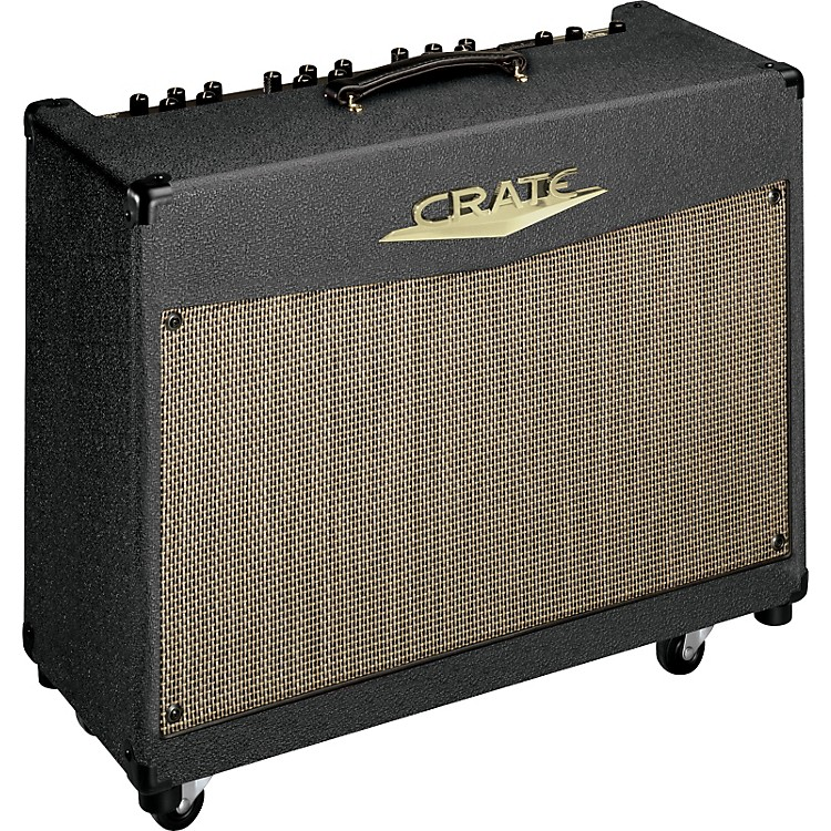 crate vtx series vtx200s 2 x 100w 2x12 guitar combo amp music123. Black Bedroom Furniture Sets. Home Design Ideas