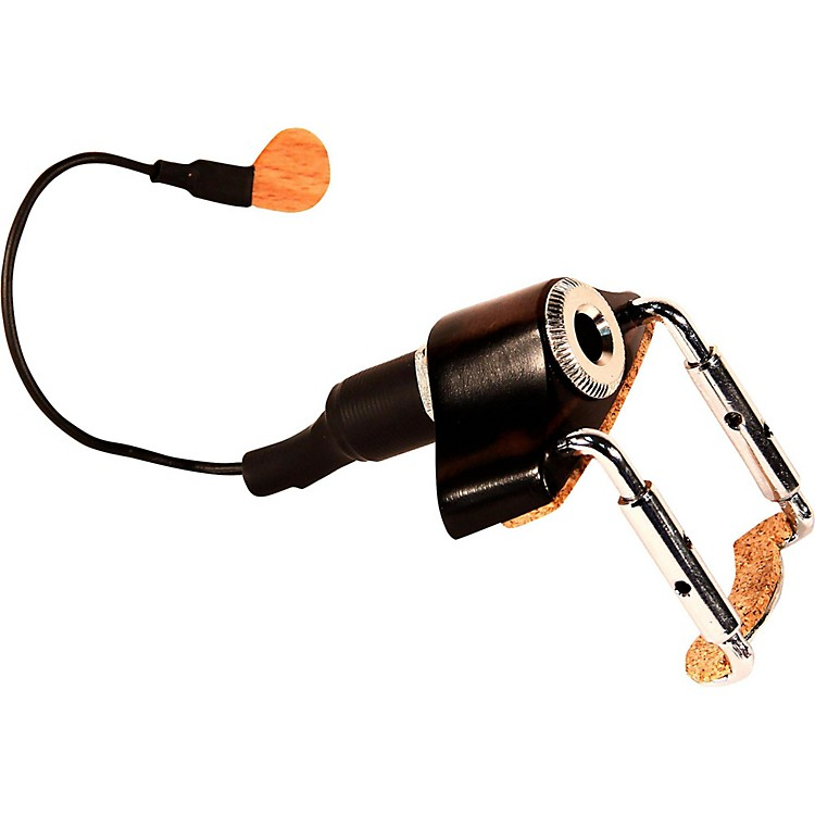 KNAVV-3 Portable Piezo Pickup for Violin and Viola with Deluxe Jack Housing