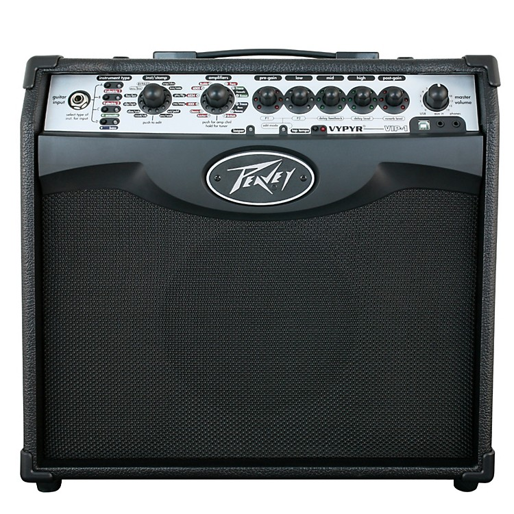Peavey VYPYR VIP 1 20W 1x8 Guitar Modeling Combo Amp Black