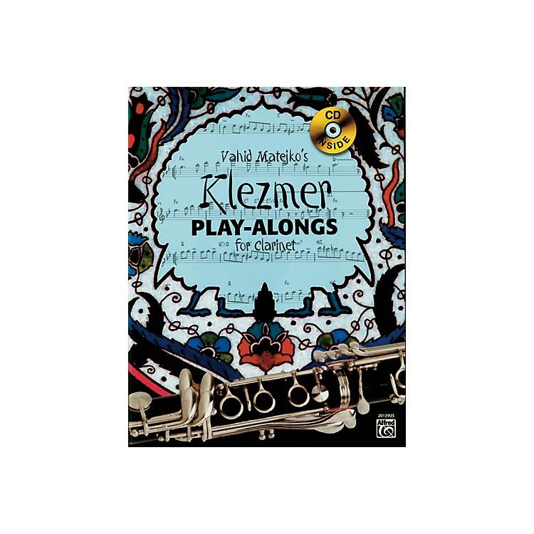 AlfredVahid Matejko's Klezmer Play-Alongs for Clarinet Book & CD