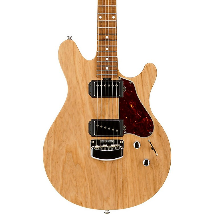 Ernie Ball Music ManValentine Signature Figured Roasted Maple Neck Electric GuitarTransparent Buttermilk