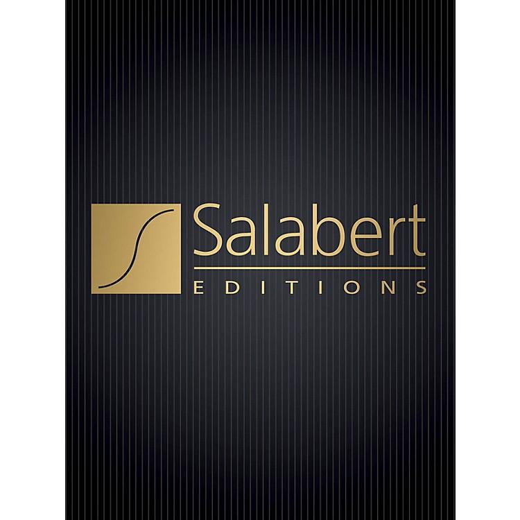 Editions SalabertValse Improvisation sur le nom de Bach (Piano Solo) Piano Solo Series Composed by Francis Poulenc