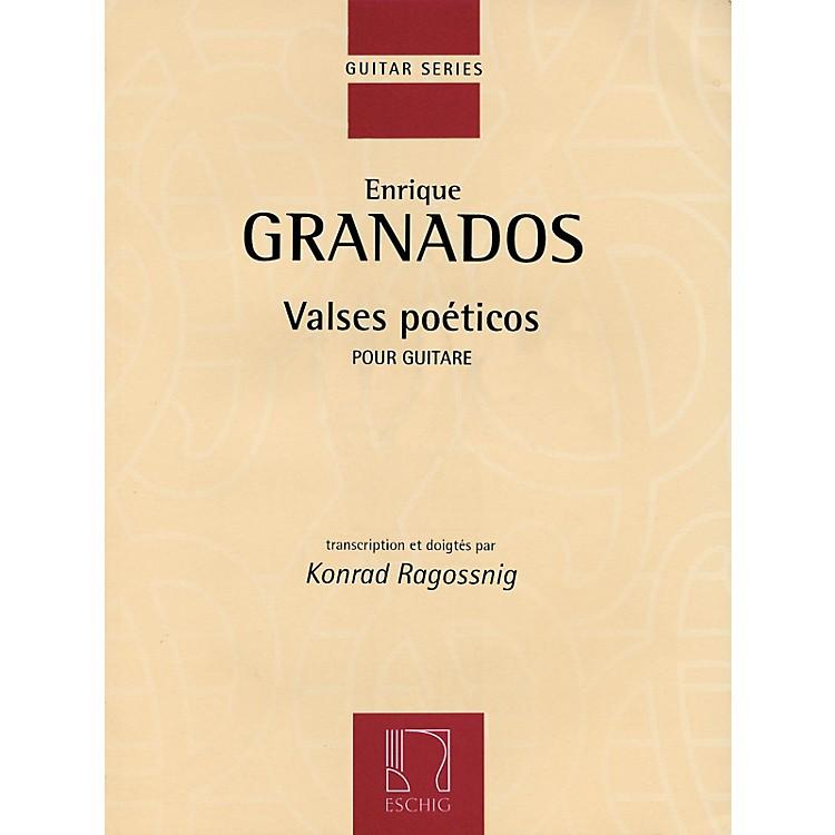 Max EschigValses Poéticos (Classical Guitar) Editions Durand Series Softcover
