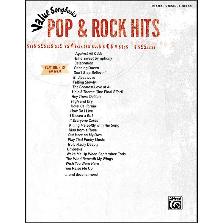 Hal LeonardValue Songbooks Pop & Rock Hits Piano/Vocal/Chords