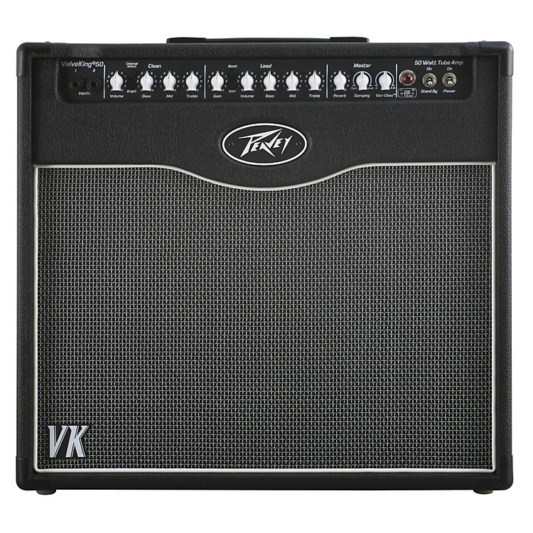 PeaveyValveKing II 50 50W 1x12 Tube Guitar Combo AmpBlack