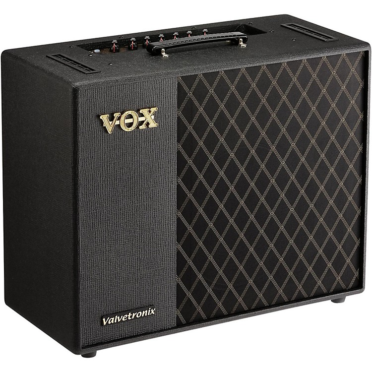 vox valvetronix vt100x 100w 1x12 digital modeling guitar combo amp music123. Black Bedroom Furniture Sets. Home Design Ideas