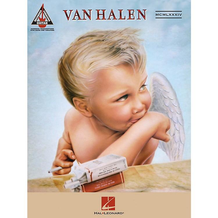 Hal LeonardVan Halen - 1984 Guitar Recorded Version Series Softcover Performed by Van Halen