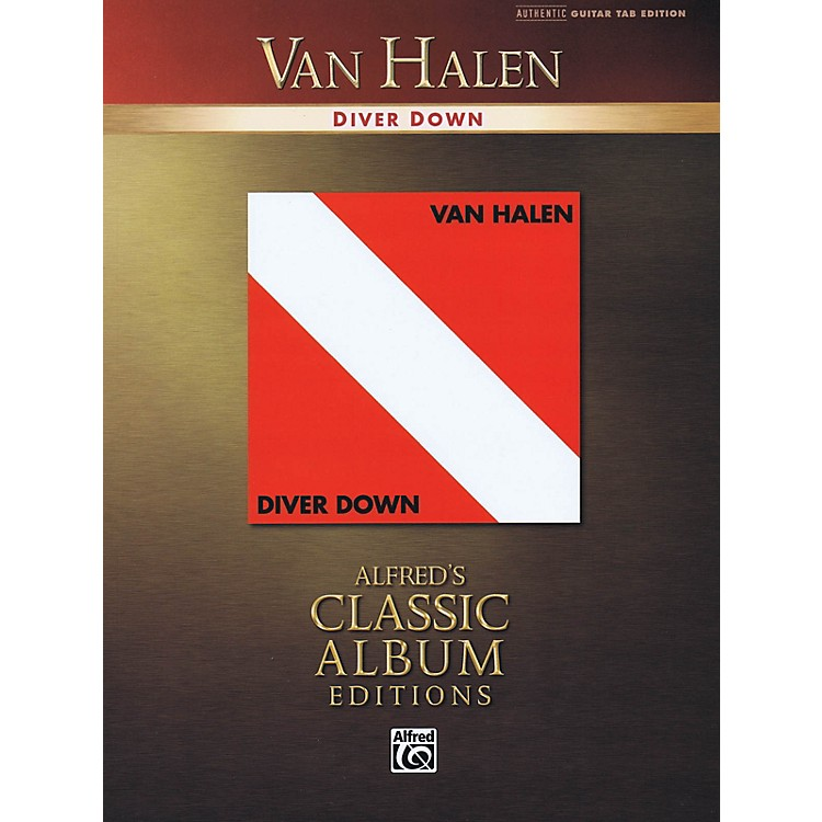 AlfredVan Halen - Diver Down Guitar Recorded Version Series Softcover Performed by Van Halen
