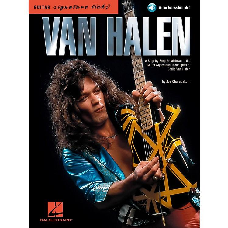 Hal LeonardVan Halen - Guitar Signature Licks Book/Online Audio