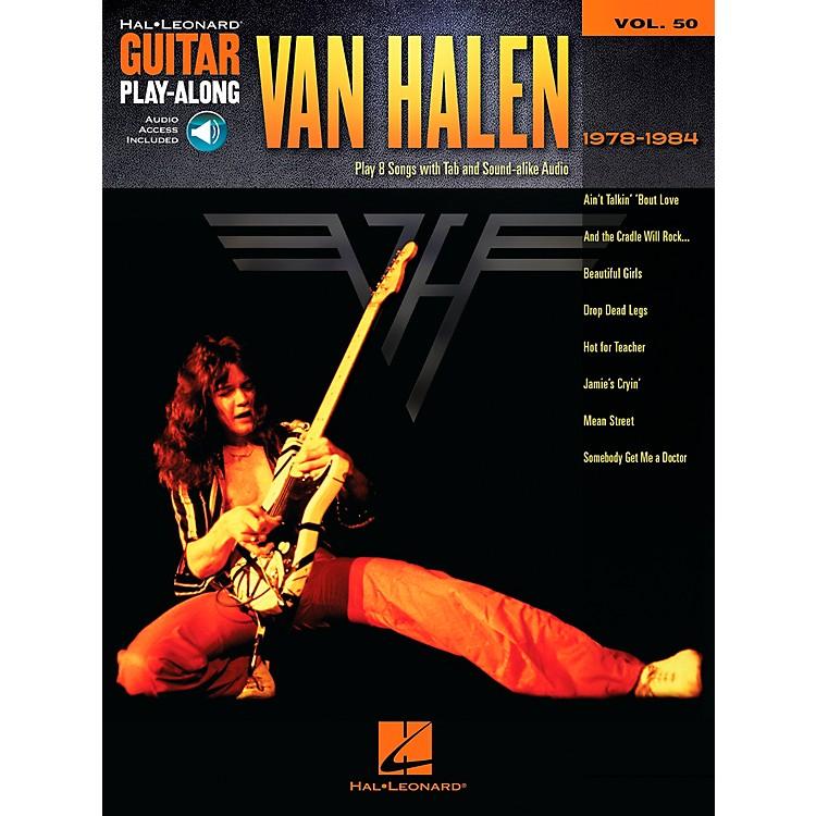 Hal LeonardVan Halen 1978-1984 - Guitar Play-Along Vol. 50 Book/CD