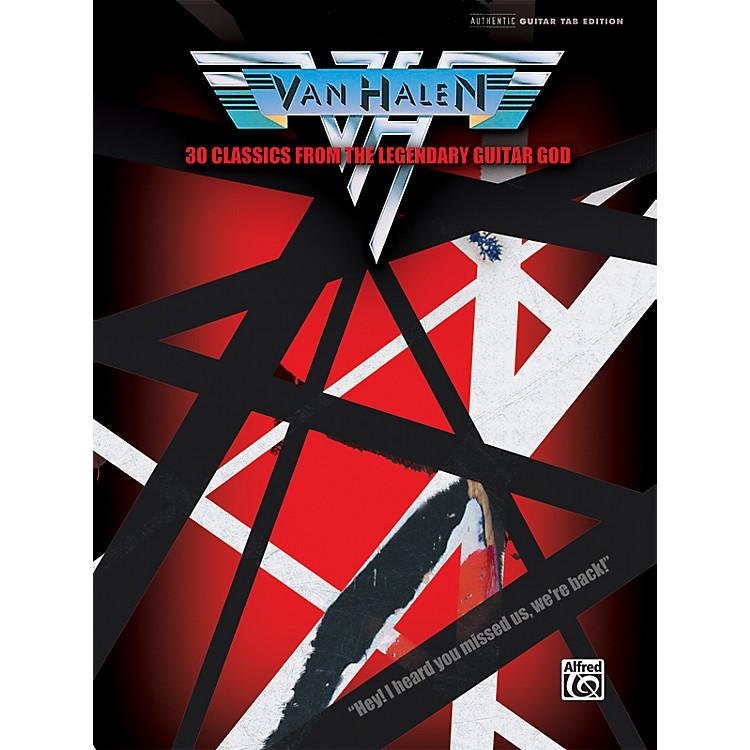 AlfredVan Halen 30 Classics from the Legendary Guitar God Guitar Tab Book