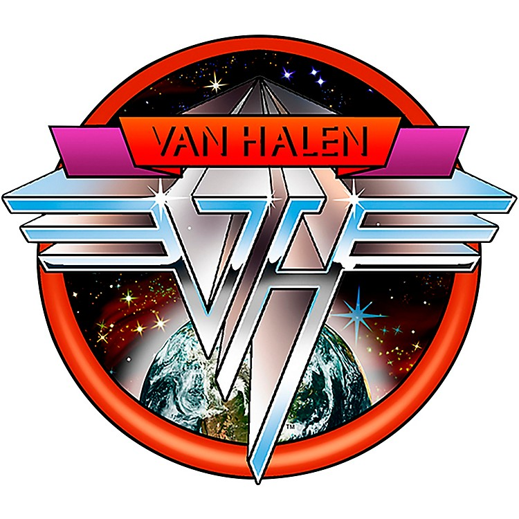 C&D VisionaryVan Halen Space Logo Patch