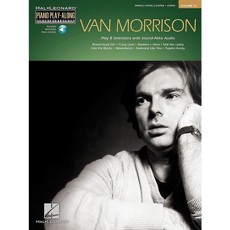Hal LeonardVan Morrison - Piano Play-Along Volume 72 Book/CD