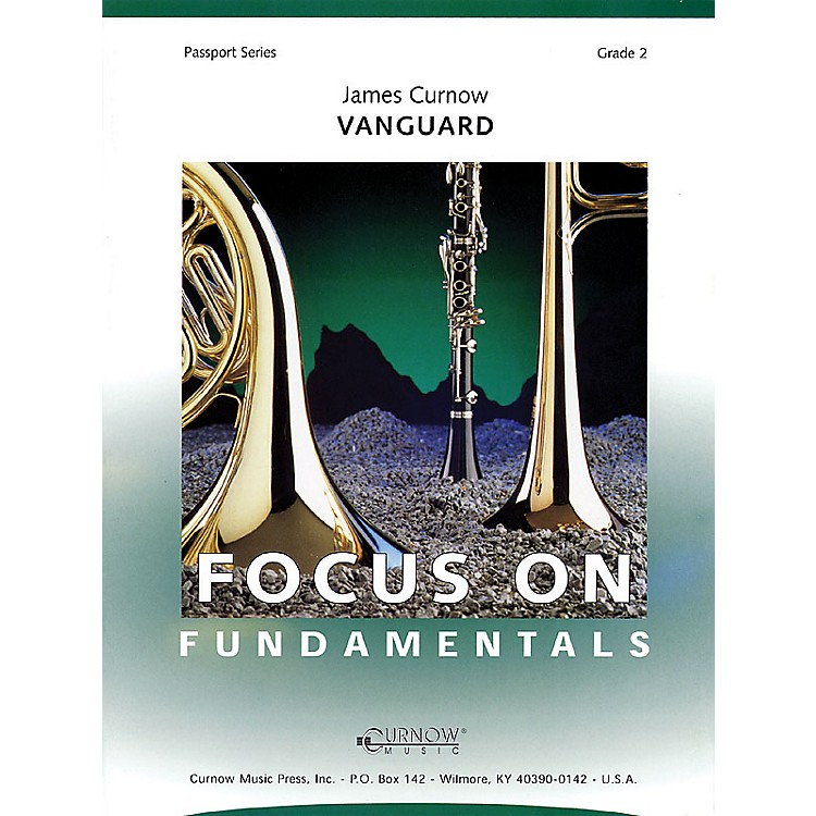 Curnow MusicVanguard (Grade 2 - Score Only) Concert Band Level 2 Composed by James Curnow