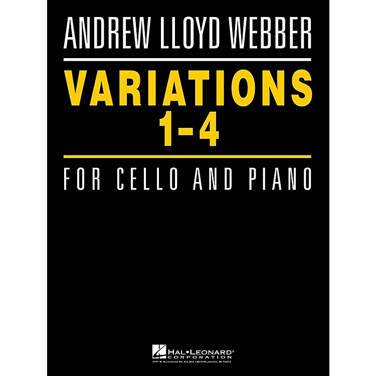 Hal LeonardVariations 1-4 for Cello and Piano Instrumental Series Softcover