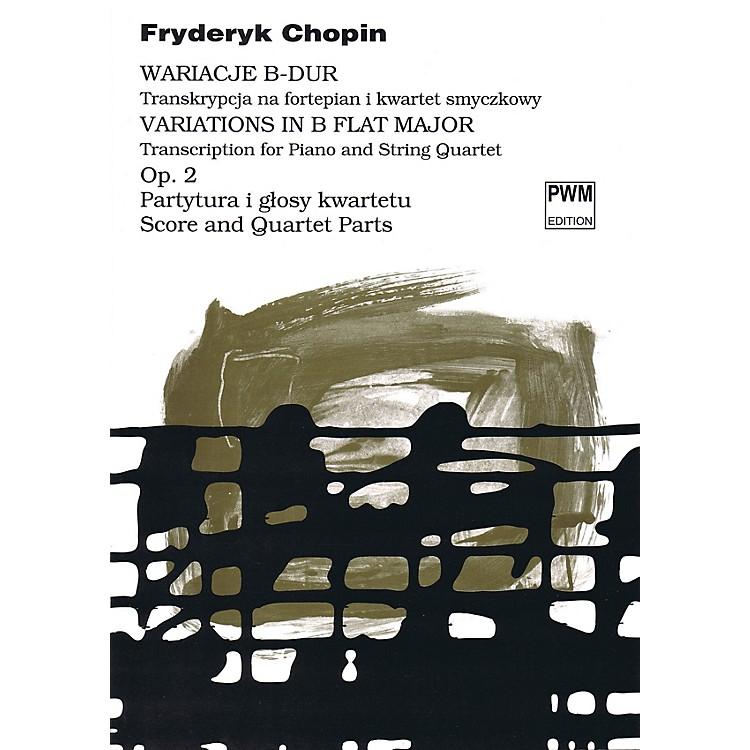 PWMVariations in B Flat Major Op. 2 PWM Series Composed by Frederic Chopin Arranged by Bartlomiej Kominek