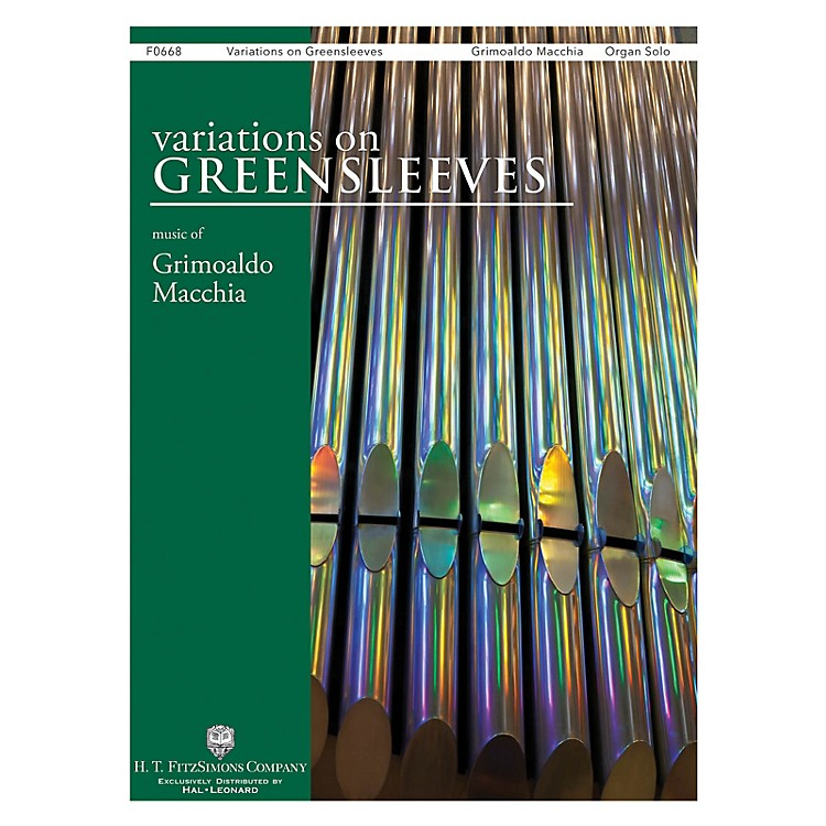 H.T. FitzSimons CompanyVariations on Greensleeves Organ Solo