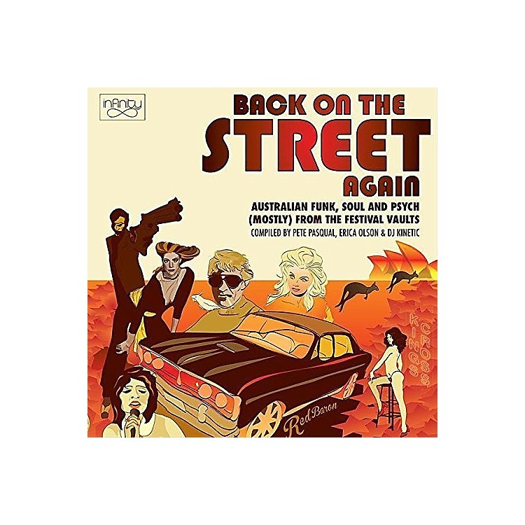 AllianceVarious - Back On The Street Again: Australian Funk Soul & Psych (Mostly) FromThe Vaults