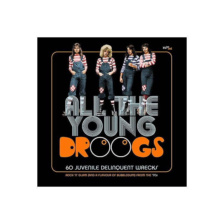 AllianceVarious Artists - All The Young Droogs: 60 Juvenile Delinquent Wrecks / Various (CD)