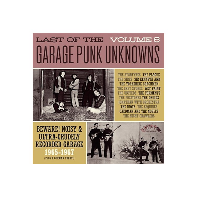 AllianceVarious Artists - Last Of The Garage Punk Unknowns 6 / Various