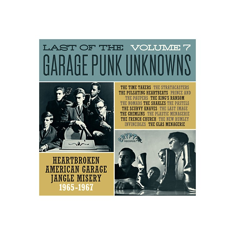 AllianceVarious Artists - Last Of The Garage Punk Unknowns 7 / Various