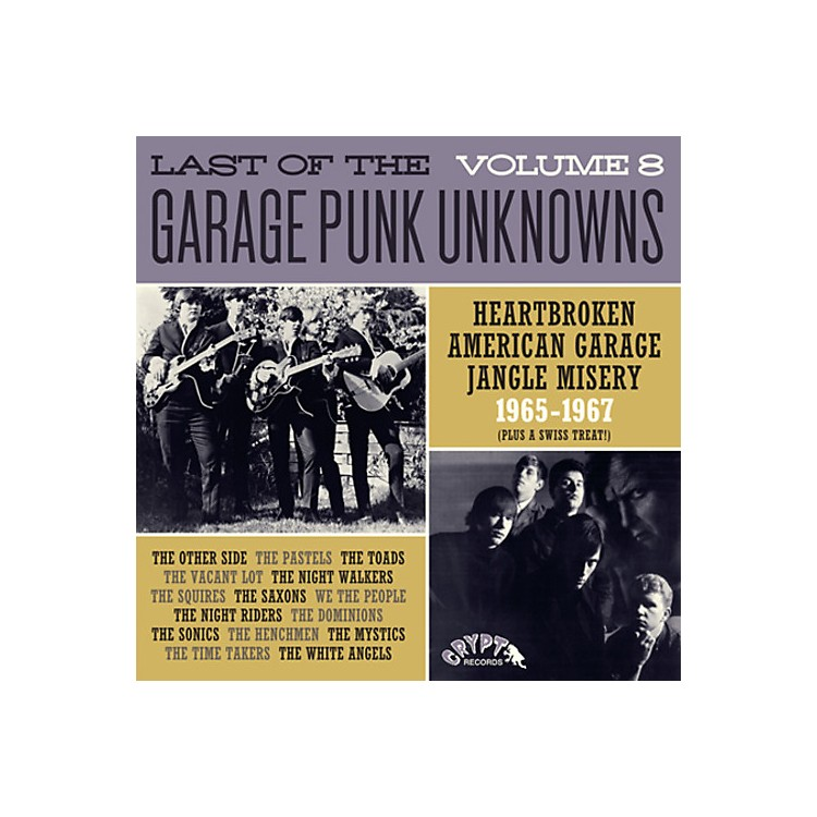 AllianceVarious Artists - Last Of The Garage Punk Unknowns 8 / Various