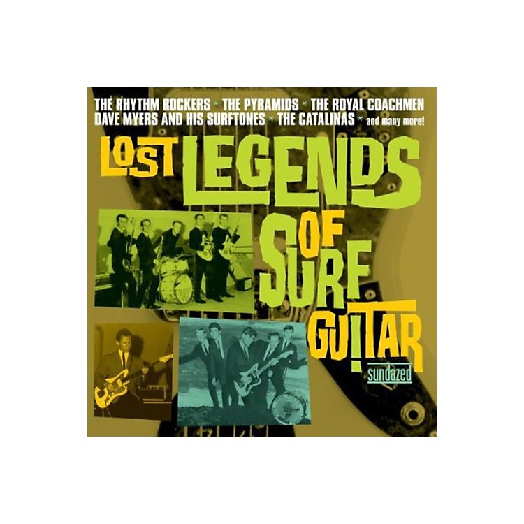 Alliance Various Artists - Lost Legends of Surf Guitar / Various
