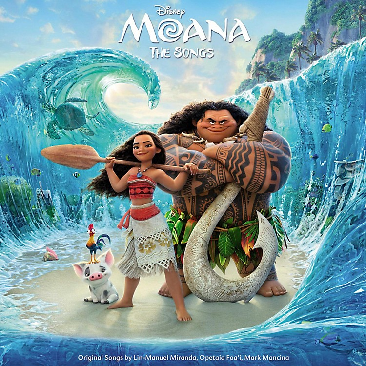 Universal Music Group Various Artists - Moana (Original Motion Picture Soundtrack) [Vinyl LP]