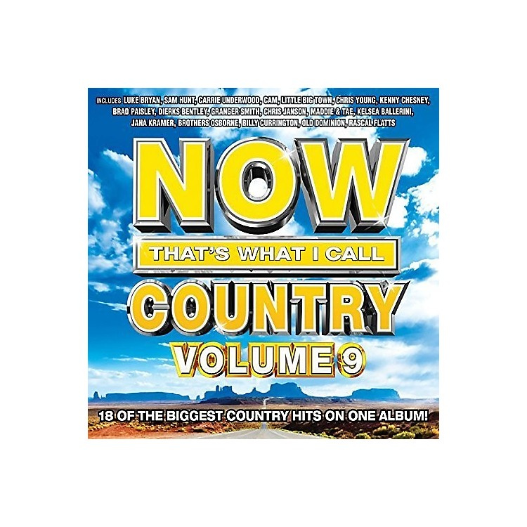 Alliance Various Artists - Now That's What I Call Country, Vol. 9 (CD)