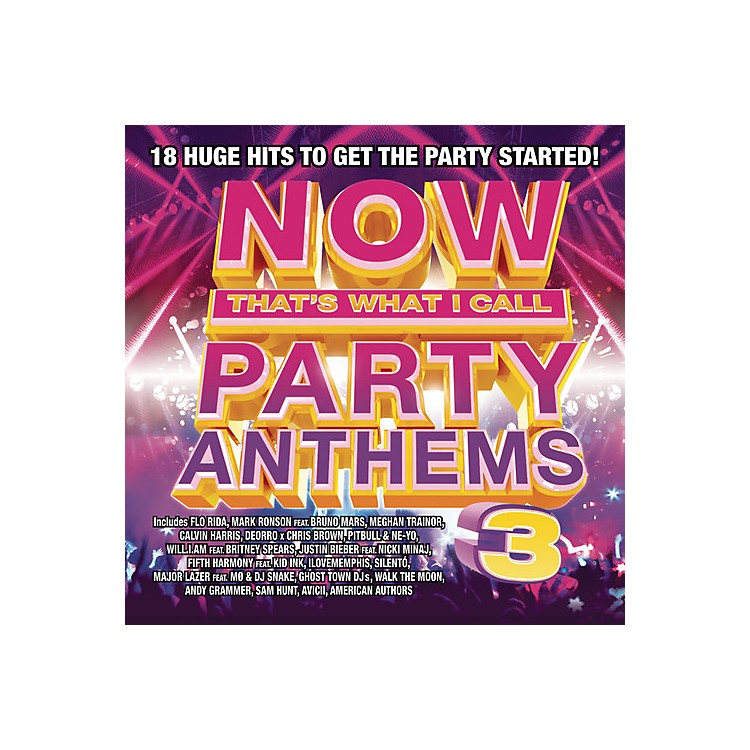 AllianceVarious Artists - Now That's What I Call Party Anthems Volume 3 (CD)