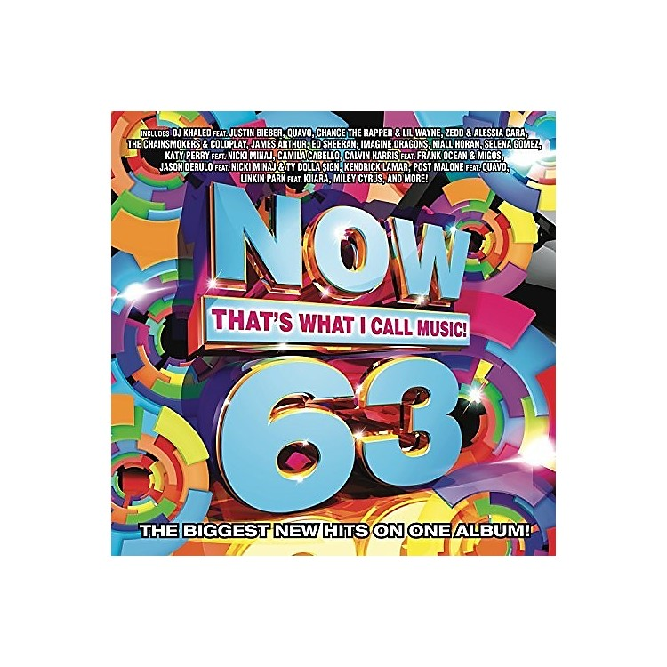 AllianceVarious Artists - Now, Vol. 63: That's What I Call Music (Various Artists) (CD)