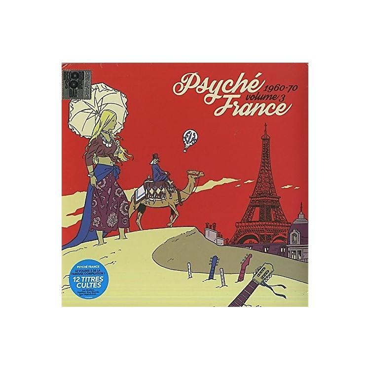 Alliance Various Artists - Psyche France Vol 3 / Various