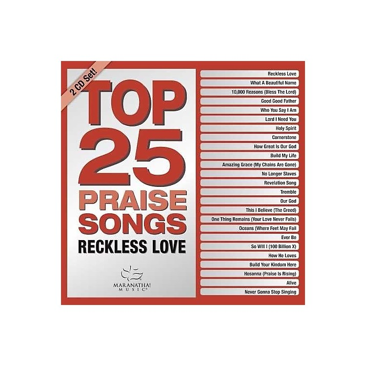 Alliance Various Artists - Top 25 Praise Songs: Reckless Love (Various Artists) (CD)